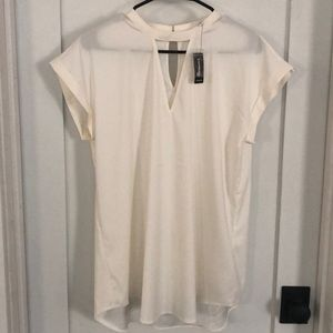 NWT Express Cream colored blouse